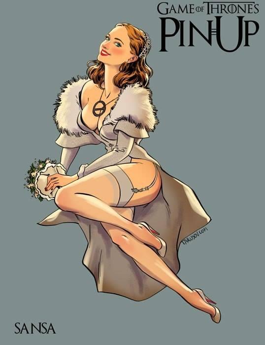 Sansa-Pinup