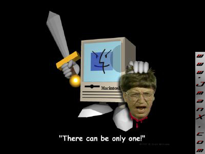 Microsoft Takes Out Bill Gates