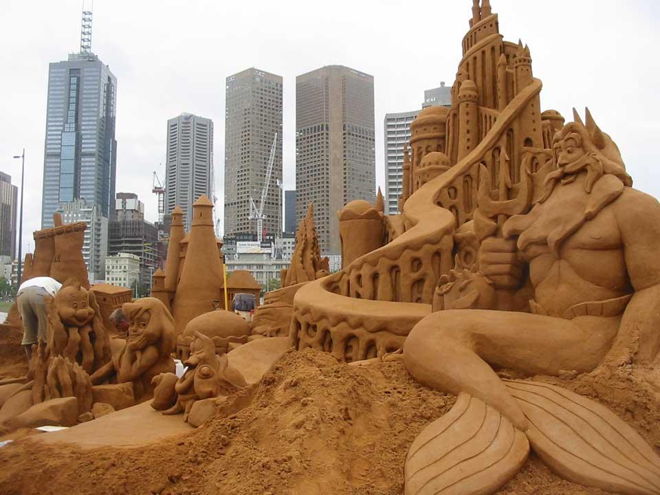 SandCastles-LittleMermaid_City